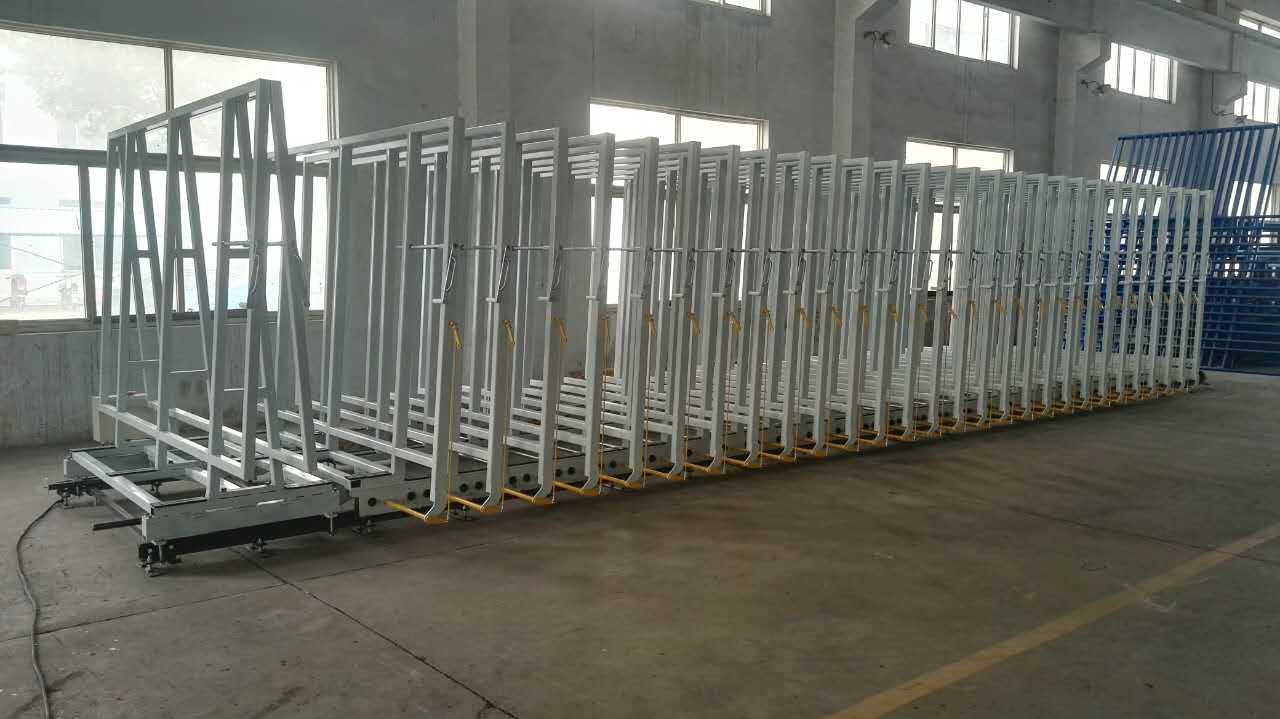 Rail Type Glass Storage Machine